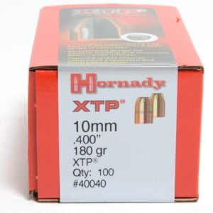 Hornady .400 / 40-10mm 180 Grain XTP Hollow Point (eXtreme Terminal Performance) (100)