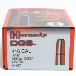 Hornady .416 / 416 400 Grain DGS (Dangerous Game Solid) (50)