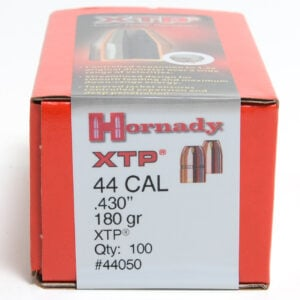 Hornady .430 / 44 180 Grain XTP Hollow Point (eXtreme Terminal Performance) (100)