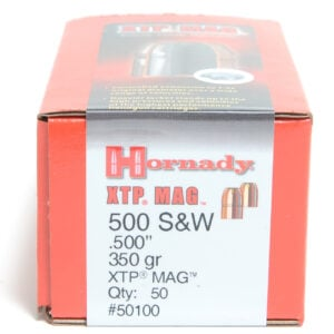 Hornady .500 / 500 S&W 350 Grain XTP MAG (eXtreme Terminal Performance) (50)