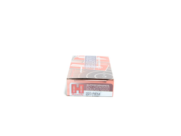 Hornady Ammo 223 Rem 75 Grain Hollow Point Boat Tail Match Superformance (20)