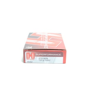 Hornady Ammo 270 Win 130 Grain GMX (MonoFlex) Superformance (20)