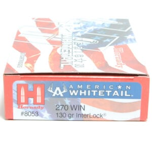 Hornady Ammo 270 Win 130 Grain Interlock American Whitetail (20)