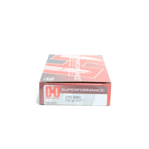 Hornady Ammo 270 Win 130 Grain SST (Super Shock Tip) Superformance (20)