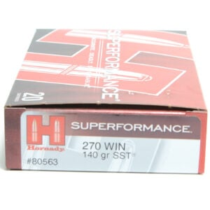 Hornady Ammo 270 Win 140 Grain SST (Super Shock Tip) Superformance (20)
