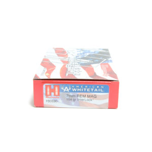Hornady Ammo 7mm Rem Mag 154 Grain Interlock American Whitetail (20)