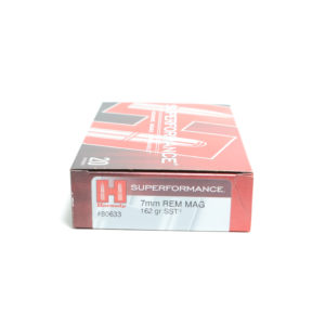 Hornady Ammo 7mm Rem Mag 162 Grain SST (Super Shock Tip) Superformance