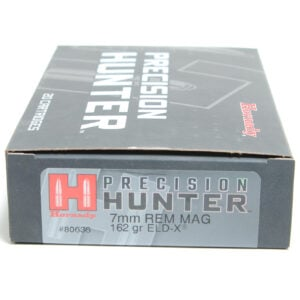 Hornady Ammo 7mm Rem Mag 162 Grain ELD-X (Extremly Low Drag) Hunting (20)
