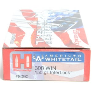 Hornady Ammo 308 Win 150 Grain Interlock American Whitetail (20)