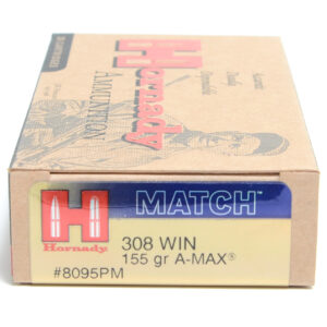 Hornady Ammo 308 Win 155 Grain Palma Match (20)