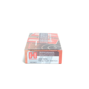 Hornady Ammo 308 Win 168 Grain ELD-M (Extremly Low Drag) Match Superformance (20)