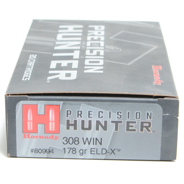 Hornady Ammo 308 Win 178 Grain ELD-X (Extremly Low Drag) Hunting (20)