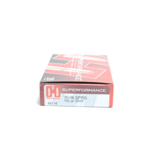 Hornady Ammo 30-06 Springfield 165 Grain GMX (MonoFlex) Superformance (20)