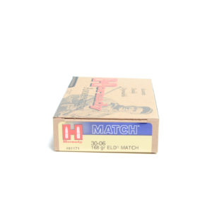 Hornady Ammo 30-06 Springfield 168 Grain ELD-M (Extremly Low Drag) M1 Garand (20)