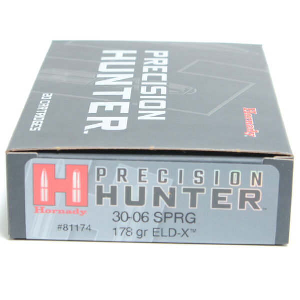 Hornady Ammo 30-06 Springfield 178 Grain ELD-X (Extremly Low Drag) Hunting (20)