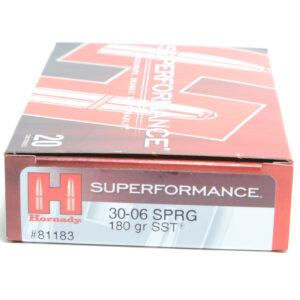 Hornady Ammo 30-06 Springfield 180 Grain SST (Super Shock Tip) Superformance (20)