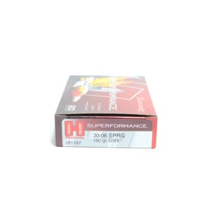 Hornady Ammo 30-06 Springfield 180 Grain GMX (MonoFlex) Superformance (20)
