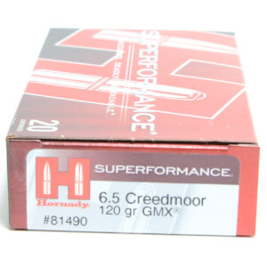 Hornady Ammo 6.5 Creed 120 Grain GMX (MonoFlex) Superformance (20)