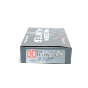 Hornady Ammo 300 Win Magnum 200 Grain ELD-X (Extremly Low Drag) Hunting (20)