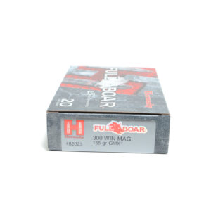 Hornady Ammo 300 Win Magnum 165 Grain GMX (MonoFlex) Full Boar (20) 10/Cs