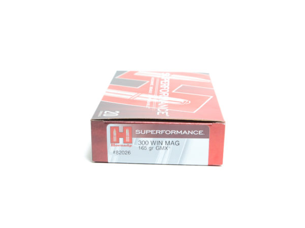 Hornady Ammo 300 Win Magnum 165 Grain GMX (MonoFlex) Superformance (20)