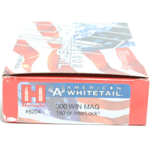 Hornady Ammo 300 Win Magnum 150 Grain Interlock American Whitetail (20)