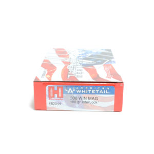 Hornady Ammo 300 Win Magnum 180 Grain Interloc American Whitetail (20)