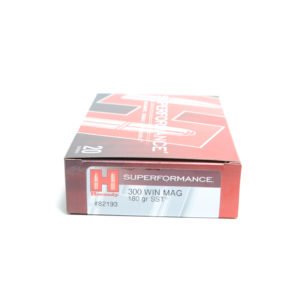 Hornady Ammo 300 Win Magnum 180 Grain SST (Super Shock Tip) Superformance (20)