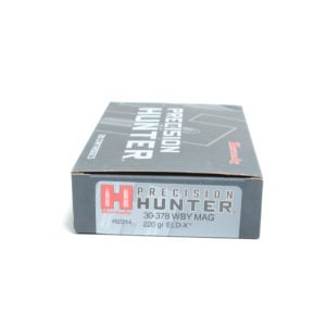 Hornady Ammo 30-378 Wby Matchg 220 Grain ELD-X (Extremly Low Drag) Hunting (20)