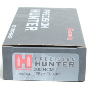 Hornady Ammo 300 RCM 178 Grain ELD-X (Extremly Low Drag) Hunting (20)