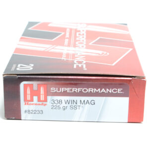 Hornady Ammo 338 Win Magnum 225 Grain SST (Super Shock Tip) Superformance (20)