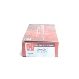 Hornady Ammo 338 RCM 225 Grain SST (Super Shock Tip) Superformance (20)
