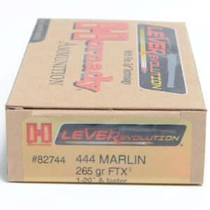Hornady Ammo 444 Marlin 265 Grain FTX (Flex Tip) LEVERevolution