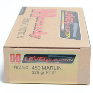 Hornady Ammo 450 Marlin 325 Grain FTX (Flex Tip) LEVERevolution