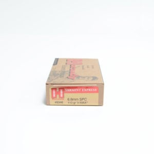 Hornady Ammo 6.8mm Soft Point 110 Grain V-MAX (20)