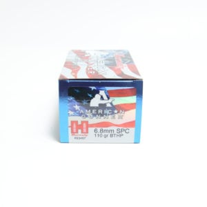 Hornady Ammo 6.8mm Soft Point 110 Grain Hollow Point Boat Tail With Cannelure American Gunner (50)