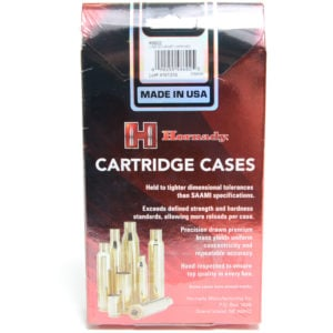 Hornady Brass Unprimed 22 Hornet (50) 5/Cs