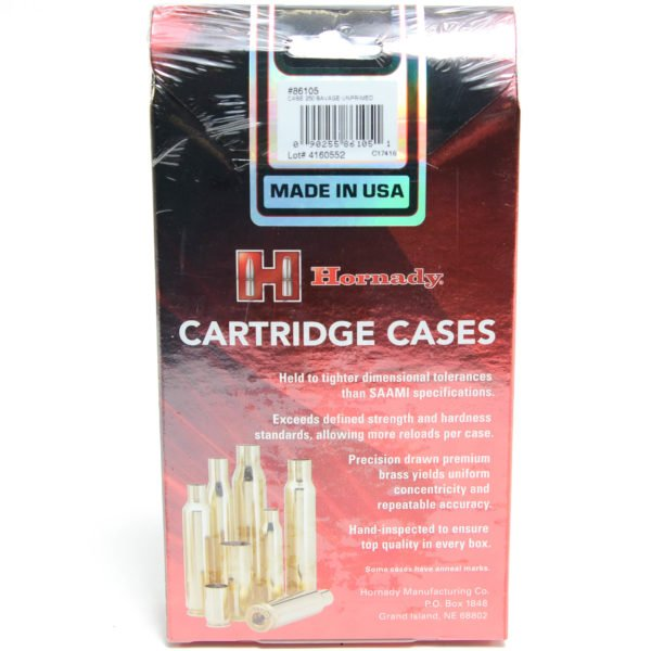 Hornady Brass Unprimed 250 Savage (50)