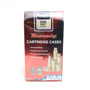 Hornady Brass Unprimed 220 Swift (50) 5/Cs