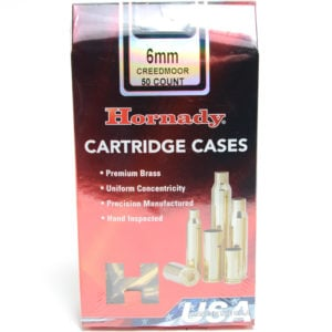 Hornady Brass Unprimed 6mm Creedmoor (50)