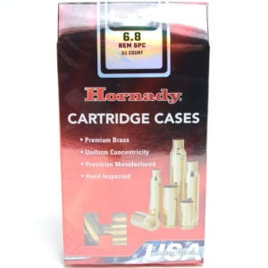 Hornady Brass Unprimed 6.8 Soft Pointc (50)