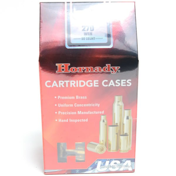 Hornady Brass Unprimed 270 Win (50)