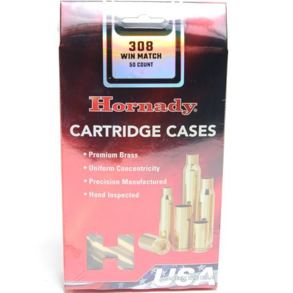 Hornady Brass Unprimed 308 Win Match (50)
