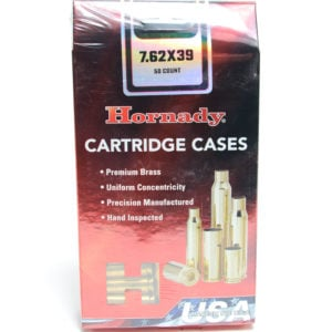 Hornady Brass Unprimed 7.62X39 (50)