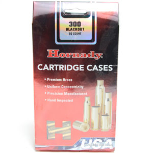 Hornady Brass Unprimed 300 Blackout (50)