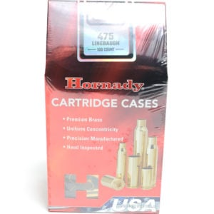 Hornady Brass Unprimed 475 Linebaugh (100)