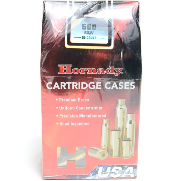 Hornady Brass Unprimed 500 S&W (50)