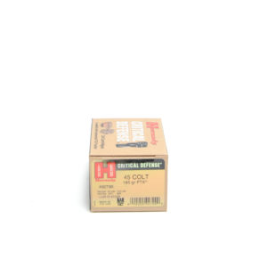 Hornady Ammo 45 Colt 185 Grain FTX (Flex Tip) Critical Defense (20)