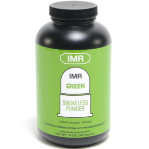 IMR Green 14 Oz of Smokeless Powder