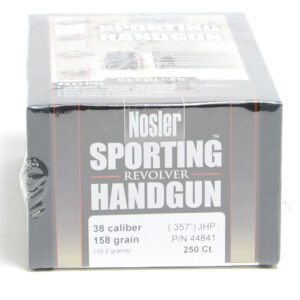 Nosler .357 / 38 158 Grain Jacketed Hollow Point (250)